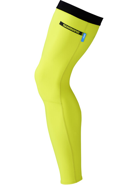 Shimano Leg Warmer neon yellow